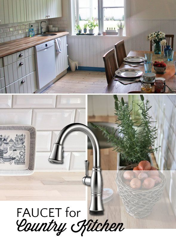 Faucet for country kitchen