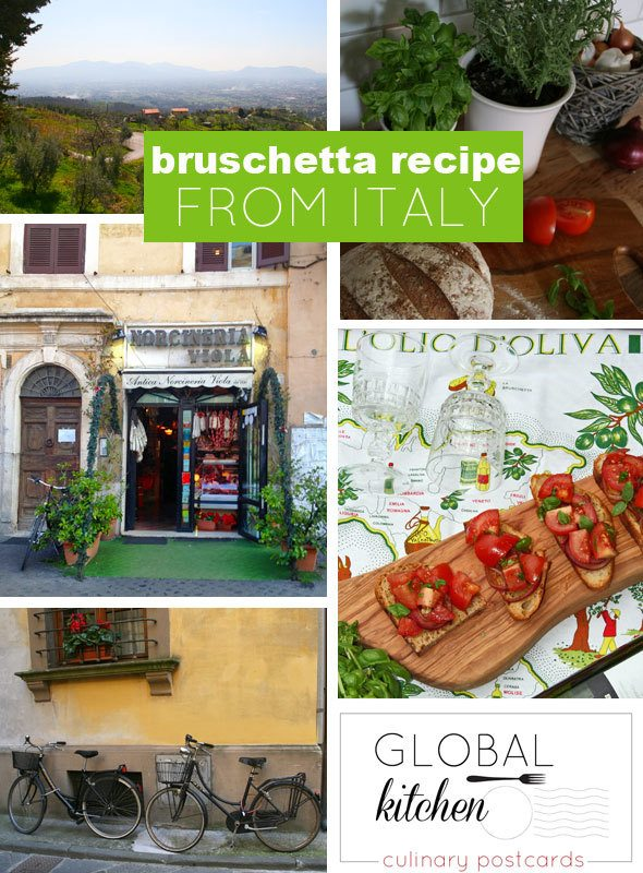 Bruschetta recipe