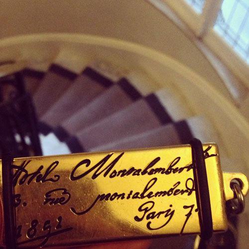 Hotel Montalembert key in Paris