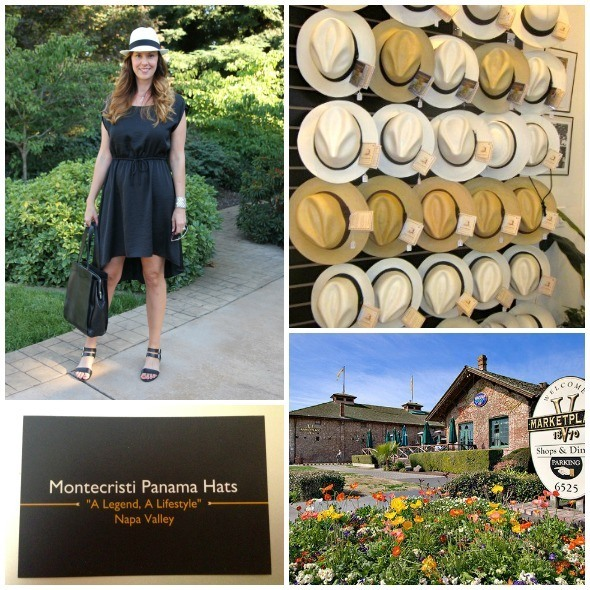 Panama Hats for sale in Yountville, Napa Valley