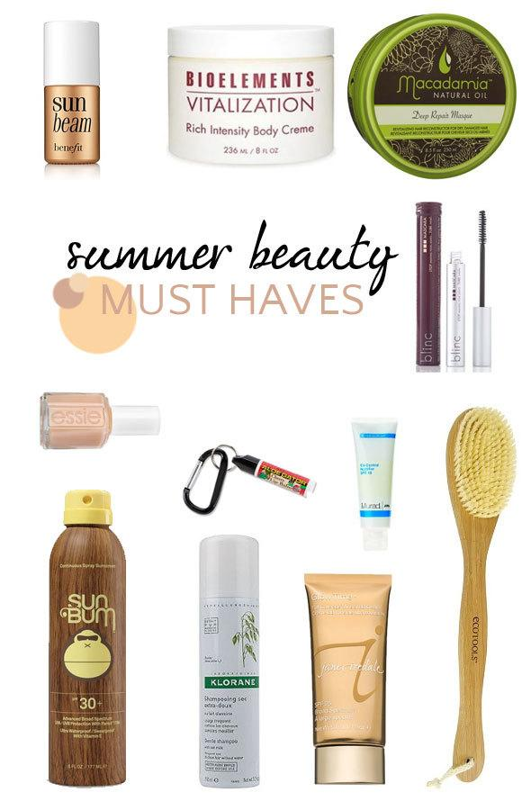summer beauty must have products