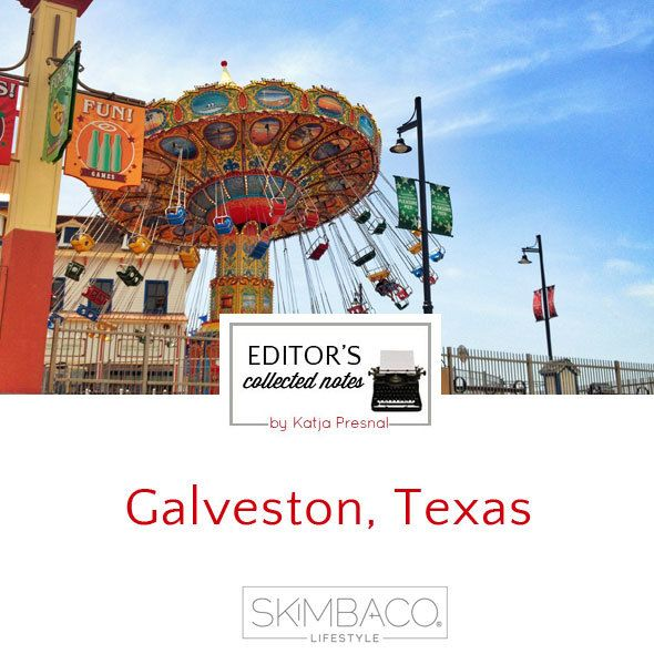 Galveston, Texas as travel destination