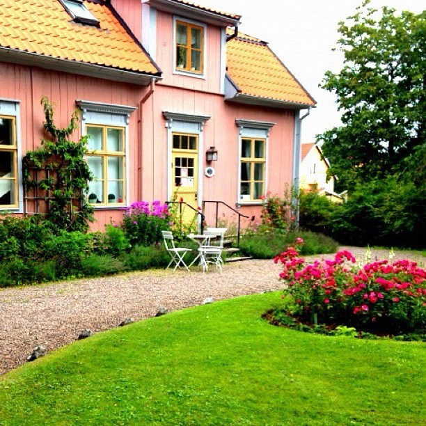 Gamla Linköping in Sweden.