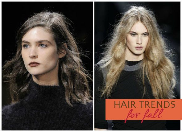 Fall Hairstyles: Deconstructed Waves