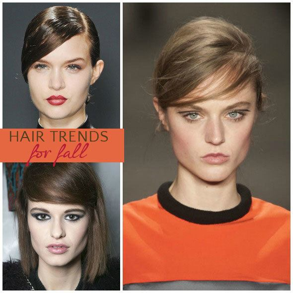Trendy hair for 2013: faux bangs