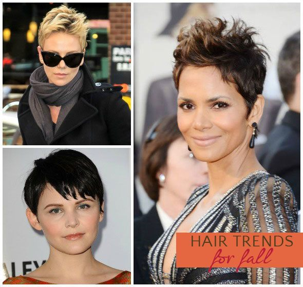 Hair trend for fall 2013: cropped cut