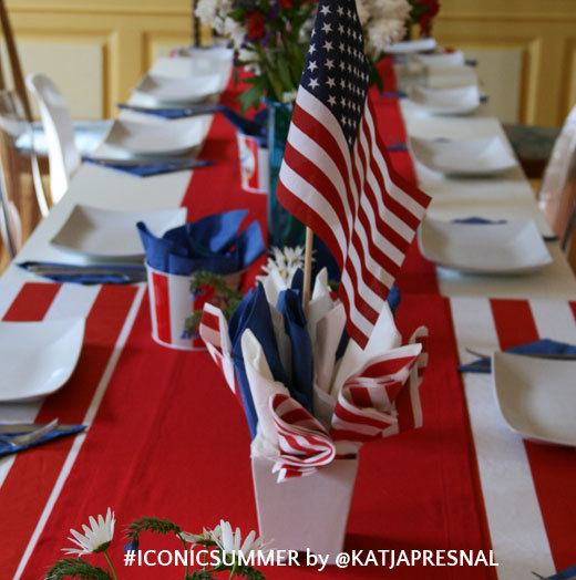 #iconicsummer - 4th of July party