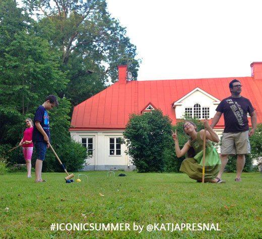 #iconicsummer - backyard games
