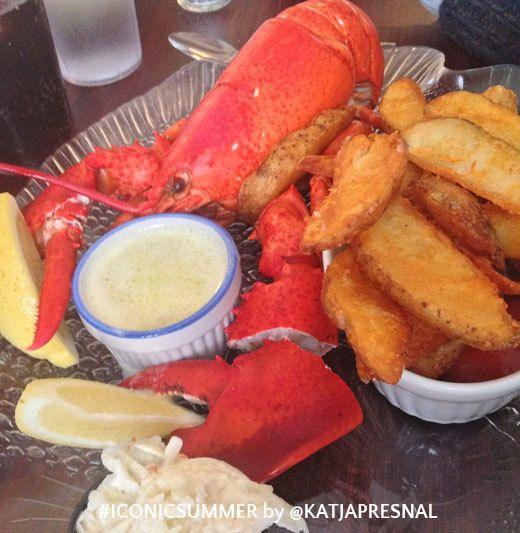 #iconicsummer - eating seafood
