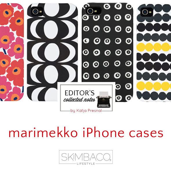 Marimekko iPhone cases featured at SkimbacoLifestyle.com