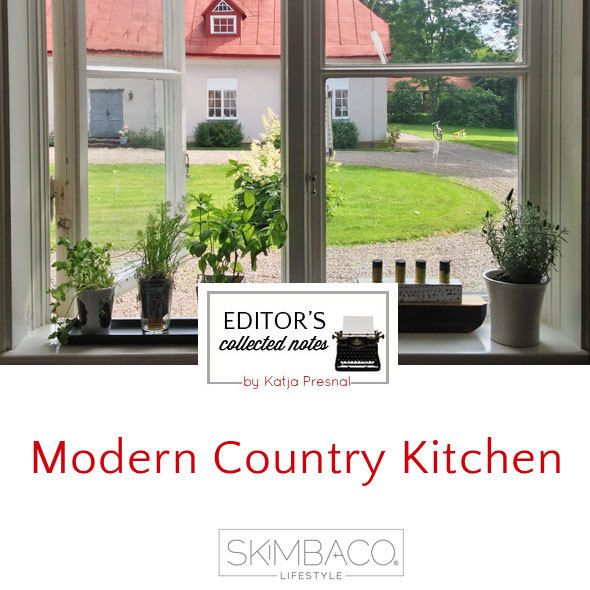 Modern Country Kitchen Inspired