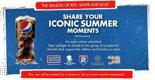 Pepsi Iconic Summer campaign
