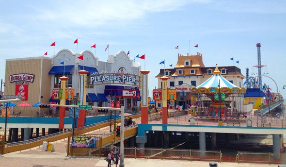 Pleasure Pier, Galveston Texas