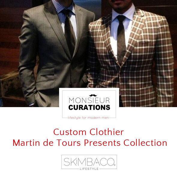 Custom Clothier Martin de Tours Presents Collection