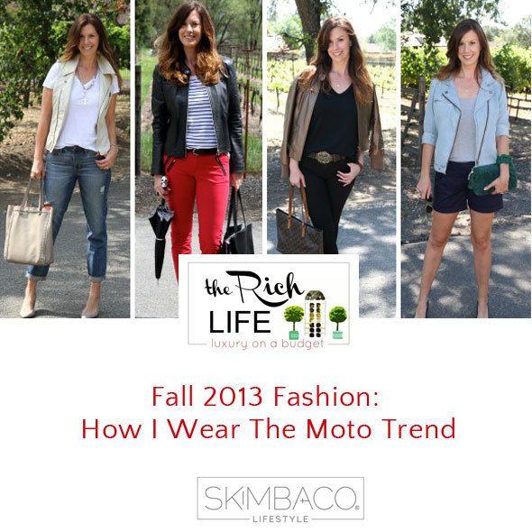 Fall 2013 Fashion: The Moto Trend