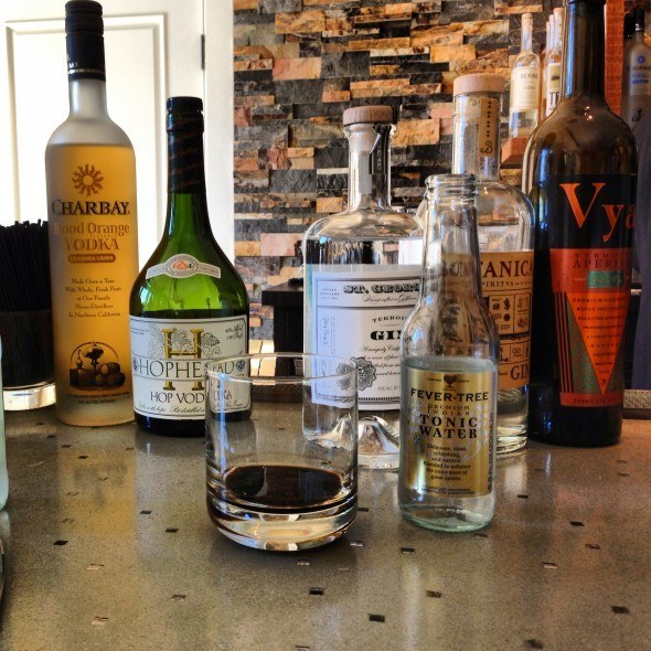 Bean and Bottle Spirits Selection