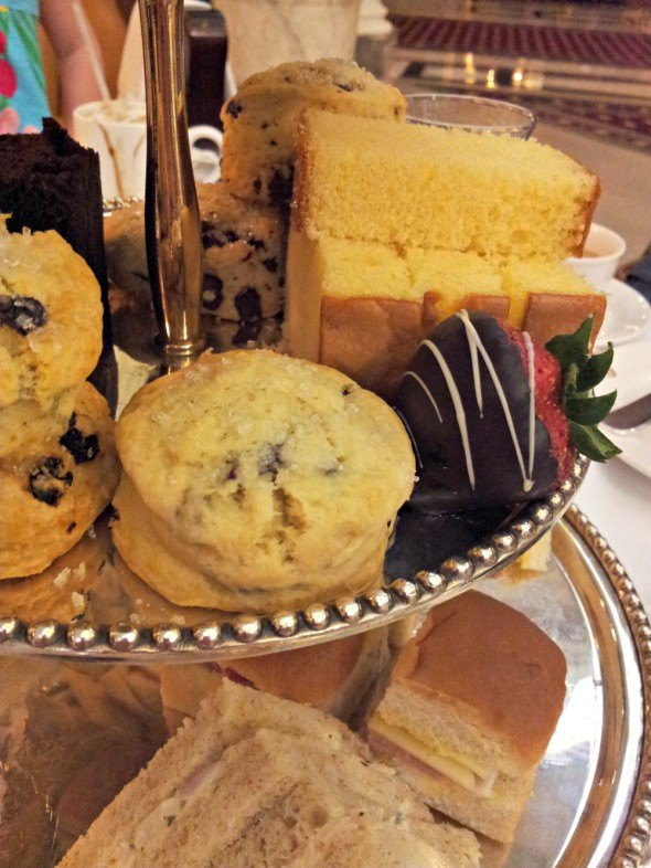 Jefferson Hotel in Richmond, Virginia-Afternoon Tea