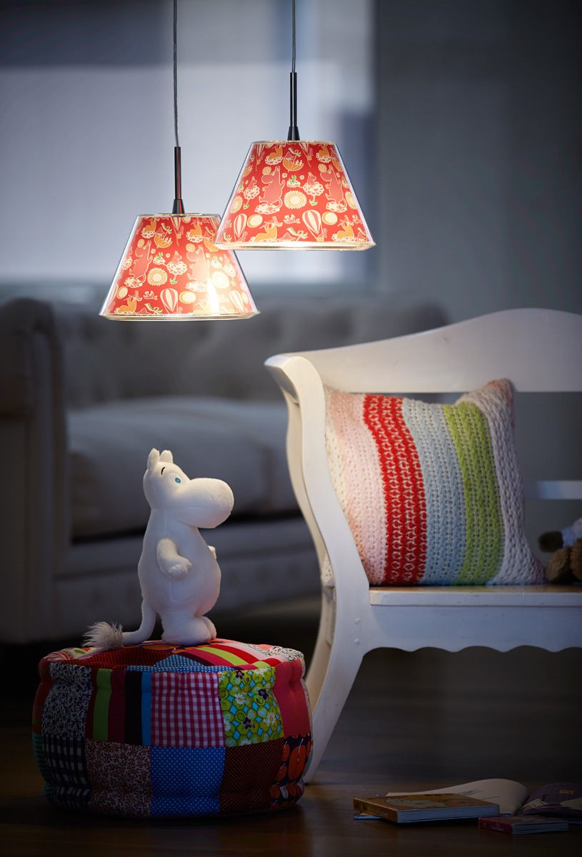 Moomin pendant lamp