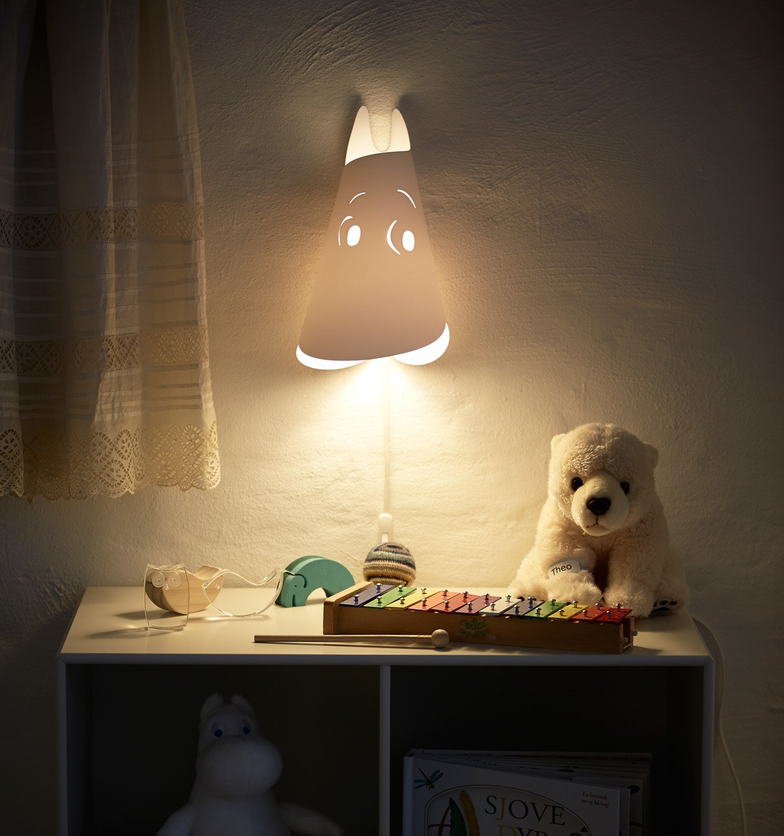 Moomin by Le Klint wall lamp