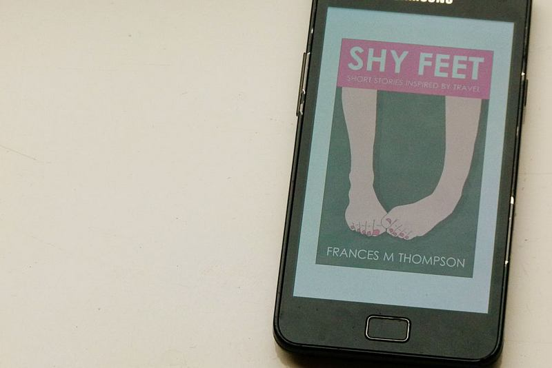 Shy Feet as an ebook on smartphone[11]