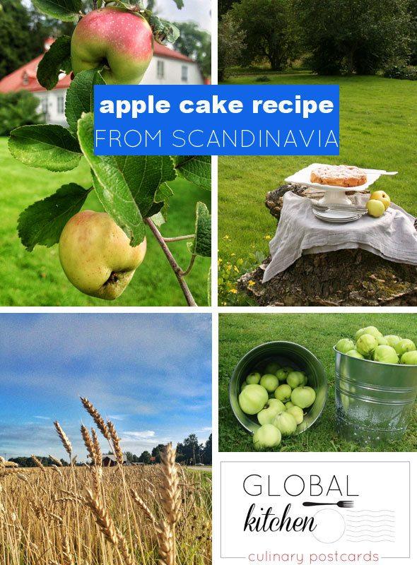 Apple cake recipe from Scandinavia