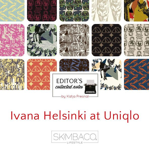 Ivana Helsinki at Uniqlo