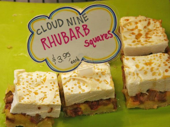 rhubarb-squares