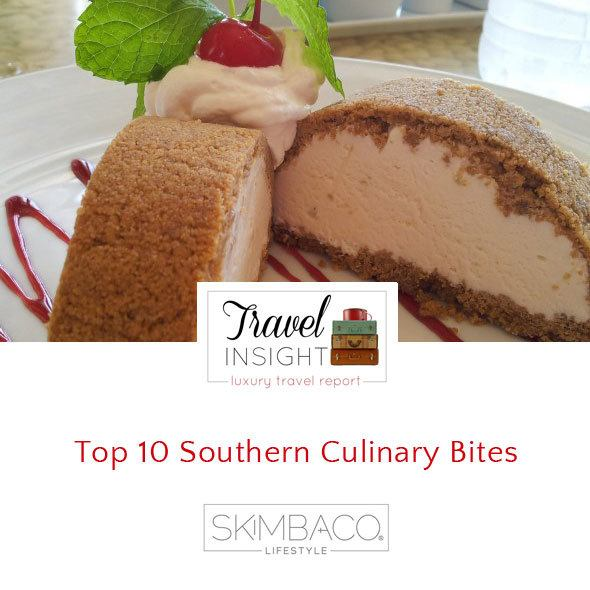 Culinary travel to South