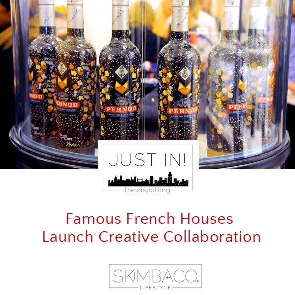 Famous French Houses Launch Creative Collaboration