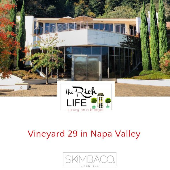Vineyard 29 in Napa Valley