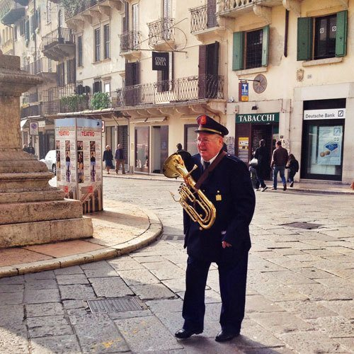 band player in Italy
