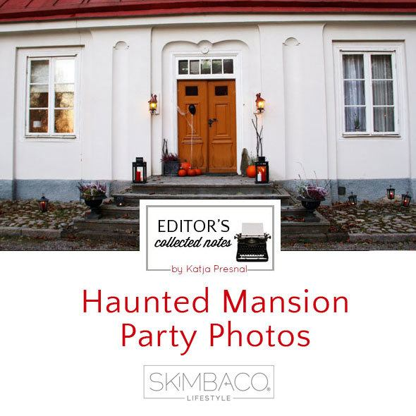 haunted mansion Halloween party - more pictures at https://www.skimbacolifestyle.com/2013/10/haunted-house-halloween-party-photos.html
