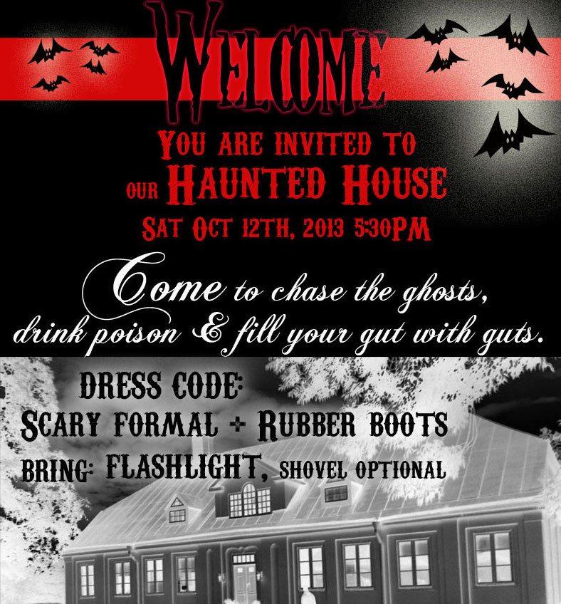 free halloween fonts halloween party invitation idea skimbaco