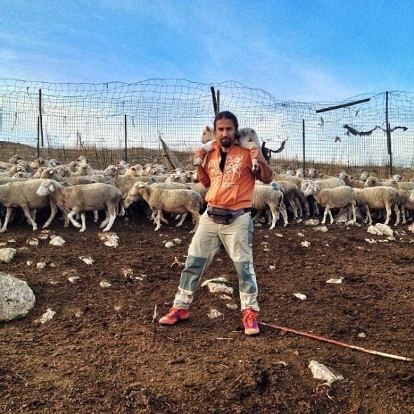 shepherd in Abruzzo