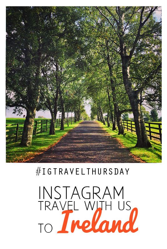 instagram travel to Ireland
