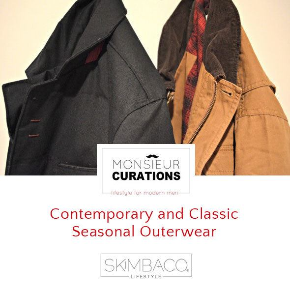 Contemporary and Classic Seasonal Outerwear for men