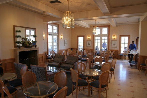 Inside Tasting Room at Domaine Carneros