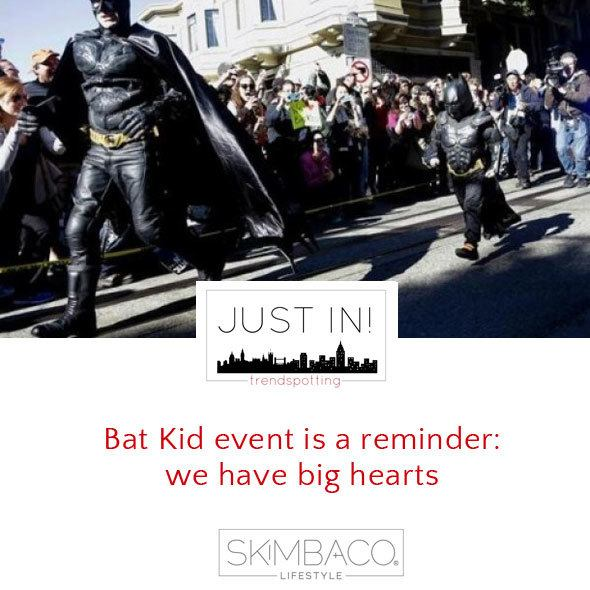Bat Kid in San Francisco