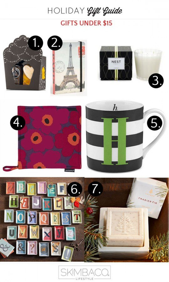 Holiday Gift Guide: Gifts & Stocking Stuffers for under $15 ...