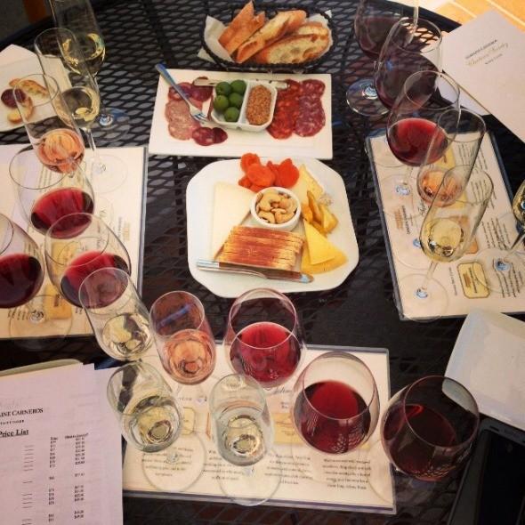 Domaine Carneros Wine Tasting