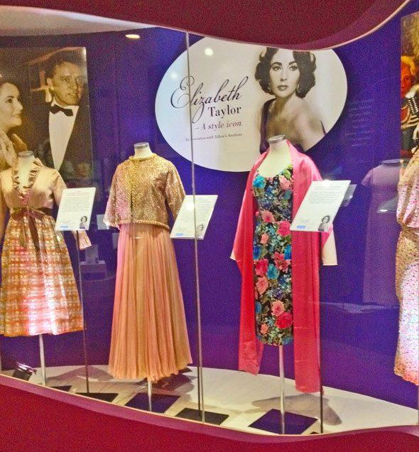 Elizabeth Taylor dresses