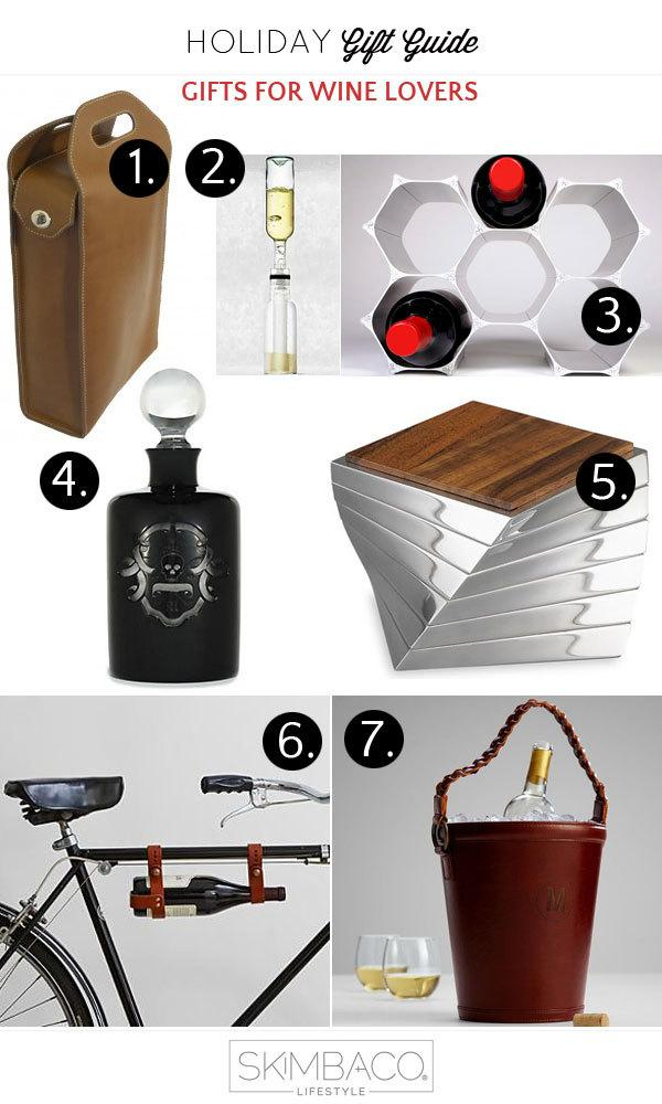 Holiday Gift Guide Gifts For Wine Lovers Skimbaco