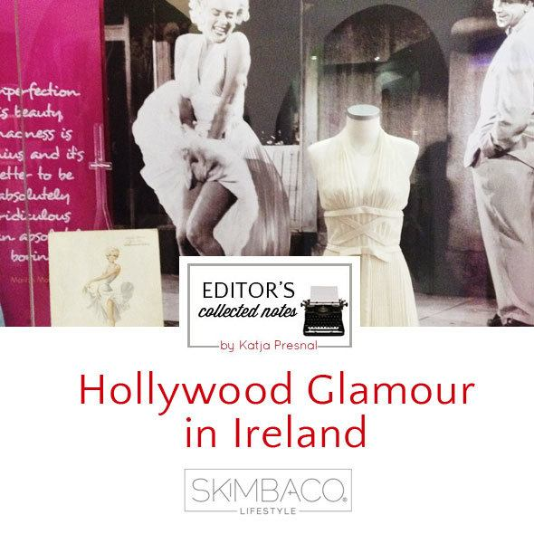 Hollywood Glamour in Newbridge Silverware Factory museum in Ireland