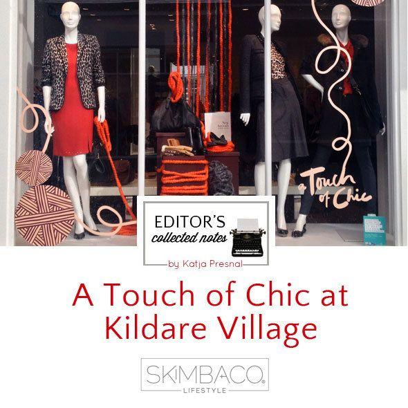 Kildare Village shopping in Ireland