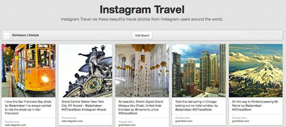 pinterest-instagram-travel-board