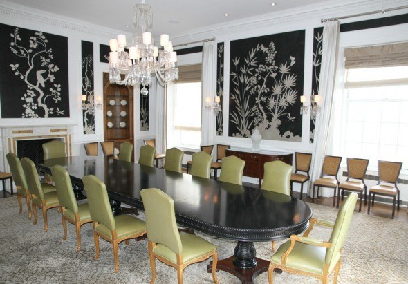 Dining Room of the Penthouse Suite at The Fairmont San Francisco