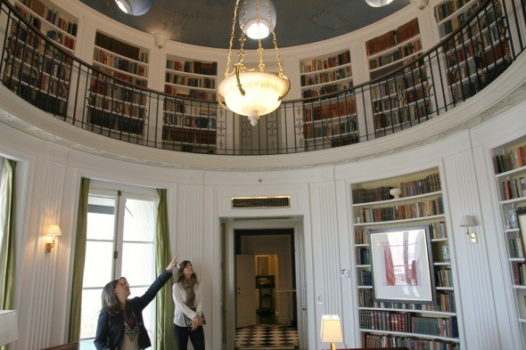 Domed Library of the Penthouse Suite at The Fairmont San Francisco