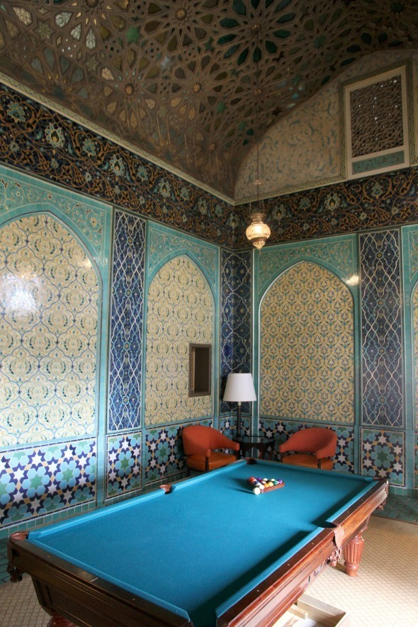 Billard Room at The Fairmont San Francisco's Penthouse Suite