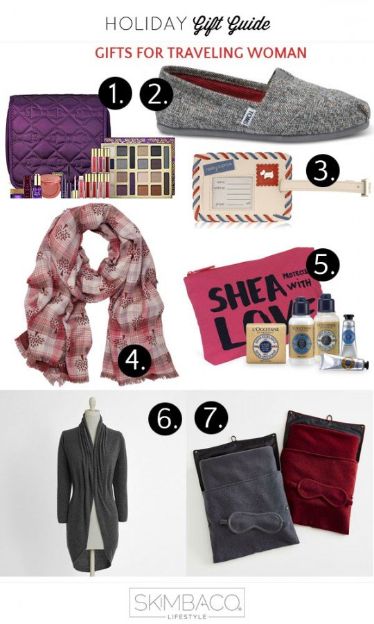 Gifts for women who travel from @skimbaco