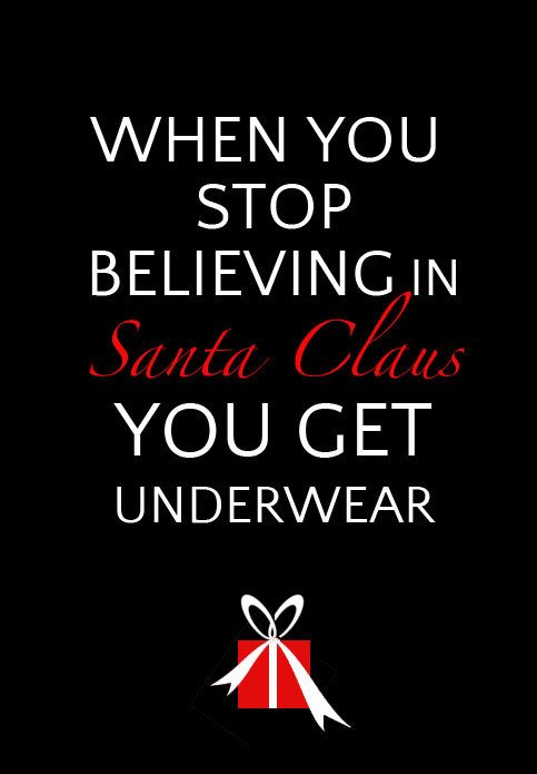 When you stop believing in Santa... from @skimbaco